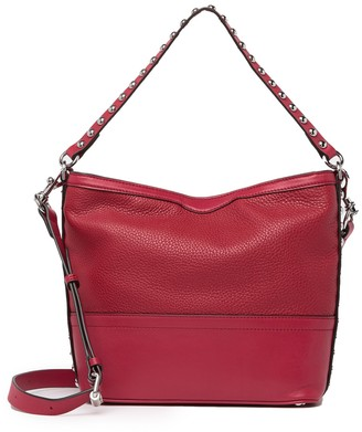 Rebecca Minkoff Blythe Small Leather Convertible Hobo Bag