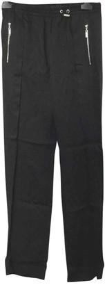 Louis Vuitton Black Viscose Trousers