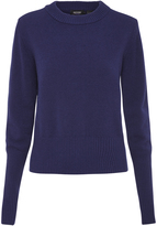 Oxford Eva Soft Crew Knit Nvy X