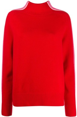 Chinti and Parker Striped Detail Jumper
