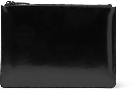 Common Projects Polished-Leather Pouch