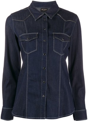 Twin-Set Slim-Fit Denim Shirt