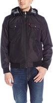 Levi's Men's Synthetic Hooded Jacket