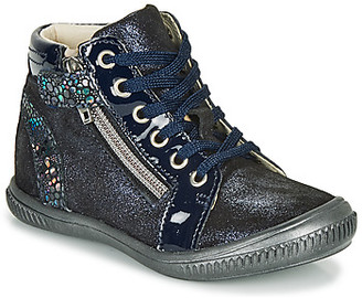 GBB RACHIDA girls's Shoes (High-top Trainers) in Blue