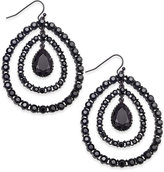 INC International Concepts Hematite-Tone Crystal Orbital Drop Earrings, Only at Macy's