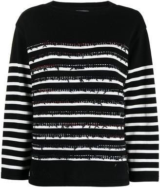 Coohem Horizontal-Stripe Knit Jumper