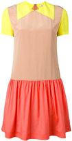 Paul Smith colour block dress - women - Silk/Viscose - 40