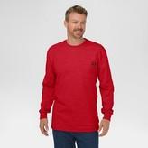 Dickies Men's Big & Tall Cotton Heavyweight Long Sleeve Pocket T-Shirt