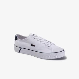 Lacoste Men's Gripshot Textured Canvas Sneakers