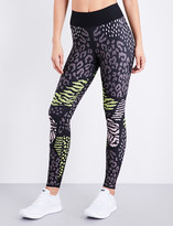 Ultracor High Luxe Animalia stretch-jersey leggings