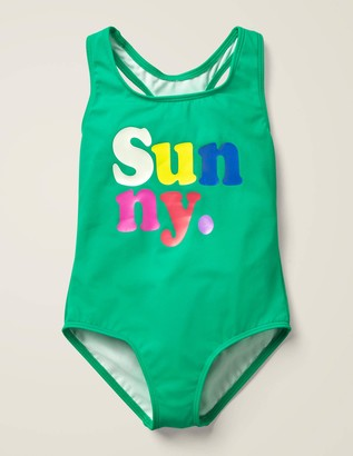 Fun Logo Swimsuit