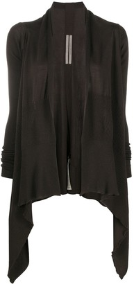 Rick Owens Knitted Open-Front Cardigan