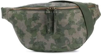 Mr & Mrs Italy Camouflage-Print Belt Bag