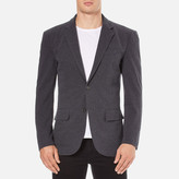 Polo Ralph Lauren Men's Jersey Buttoned Blazer Grey Heather