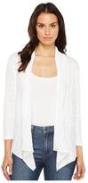 Lilla P 3/4 Sleeve Open Cardigan Women's Sweater