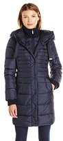 French Connection Women's Oversized Hooded Down Coat