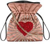 Les Petits Joueurs Trilly heart embellished shoulder bag
