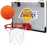 Los Angeles Lakers Game On Hoop Set