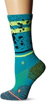 Stance Women's Reflex Striped Moisture Wicking Arch Support Fusion Athletic Crew Sock