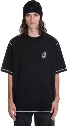 Marcelo Burlon County of Milan World Over T-shirt In Black Cotton