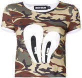House of Holland camo T-shirt
