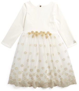 Lesy Floral Tulle-Skirt Dress (4-14 Years)