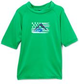 Kanu Surf Green Optic Rashguard - Toddler & Boys