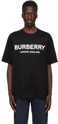 Burberry Black Letchford Logo T-Shirt