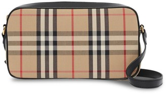 Burberry Vintage Check Camera Bag