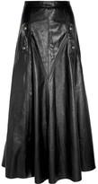 Chloé Leather Maxi Skirt - Black