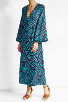 Vanessa Seward Printed Silk Jacquard Dress