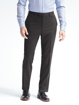 Banana Republic Standard Solid Wool Trouser