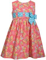 Bonnie Jean Toddler Girl Butterfly Print Poplin Sundress