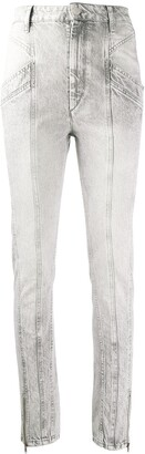 Isabel Marant Faded Slim Jeans