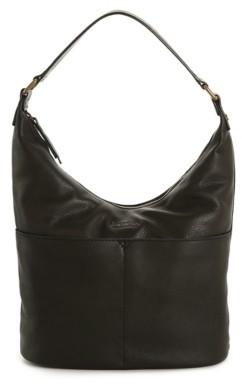 American Leather Co. Leather Hobo Bag
