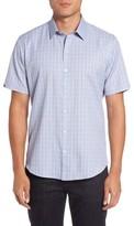Zachary Prell Men's Zimmerman Check Sport Shirt