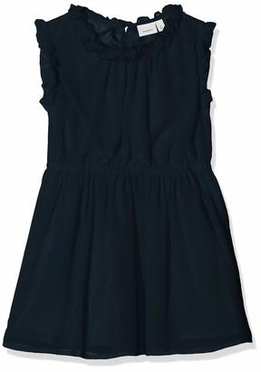 Name It Girl's Nmfvilusi Capsl Dress H