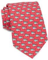 Vineyard Vines Bass Whale Printed Tie
