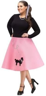 Fun World Costumes FunWorld Plus-Size Poodle Skirt
