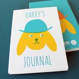 Sukie Personalised Notebook 'Cute' Dog In Hat