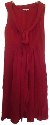 LK Bennett Red Silk Dress for Women