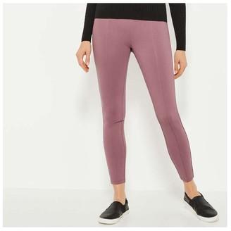 Joe Fresh Women's Ponte Leggings, Lilac (Size S)