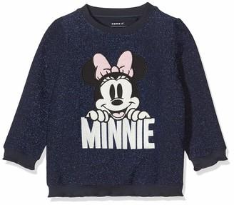 Name It Girl's Nmfminnie Rebec Sweat Wdi Sweatshirts