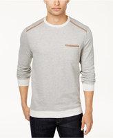 Tasso Elba Men's Stripe Pocket Sweatshirt, Created for Macy's