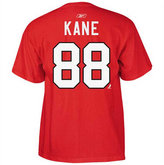 Reebok Kids' Short-Sleeve Patrick Kane Chicago Blackhawks Player T-Shirt
