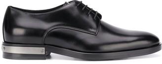 Balmain plaqued heel Derby shoes
