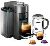 Nespresso Evoluo Espresso Maker with Aeroccino Frother Set (2 PC)