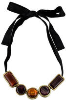 Marni Lacquered Horn Bead Necklace