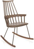 Kartell Comback Rocking Chair - Hazelnut
