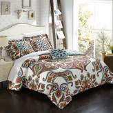 Chic Home Carrey Reversible King Duvet Cover Set in Blue